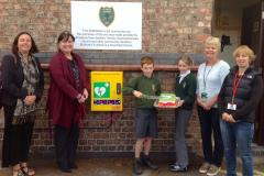 School makes defibrillator available 24 hours