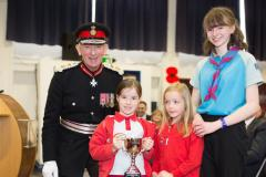 Youngsters recognised for contribution to Poppy Appeal