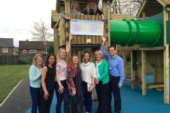 School gets new play equipment thanks to PTA's fundraising