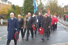 Plans for 2014 Wilmslow Remembrance Day Parade and Service