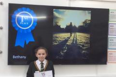 Budding photographer snaps up first prize