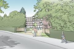 Plan for 57 retirement apartments approved