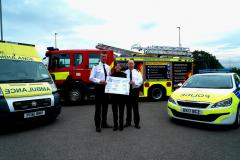 Emergency services unite to support people living with dementia