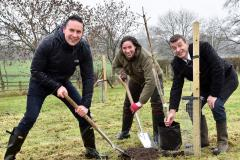 King's establishes heritage orchard at new campus