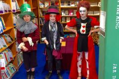 Children and teachers bring their favourite book characters alive