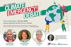 Three North West MEPs to speak at Climate Emergency Debate held in Wilmslow
