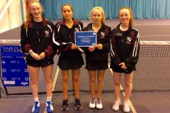 Tennis: U15 girls through to national finals
