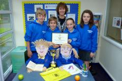 Ashdene wins school's scarecrow competition