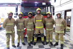 Firefighters to take on parkrun in full gear