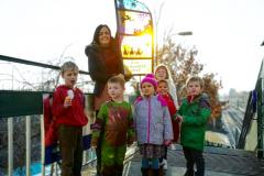 Christmas Story lights up Handforth station