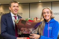 Athletes from across the UK visit OrthTeam Centre to celebrate launch