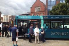 Bus service to Manchester axed