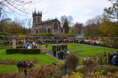 Lest we forget: Wilmslow marks Remembrance Sunday