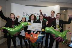 Dragons raise over £2000 for local hospice