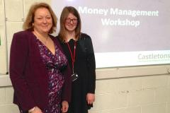 Money Management workshop for Wilmslow High School students
