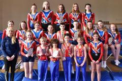 Trampoline champs hit heights at the nationals