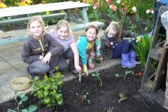 Green-fingered Brownies dig deep at community cafe