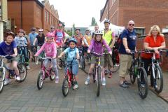 Family cycle rides come to Handforth