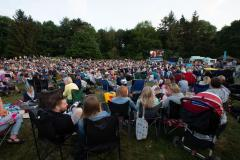 Sunshine and 'irresponsible publicity' draws record crowd