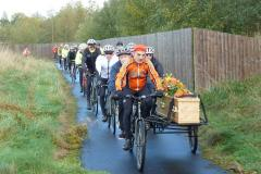 Fitting tribute to keen cyclist who campaigned tirelessly for better facilities