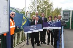 Handforth Station gets an international twin