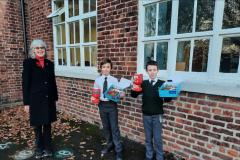 Schools collect record amount for Wilmslow Poppy Appeal