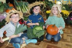 Harvest celebrations at St Benedict's