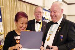 Prolific fundraiser recognised for outstanding service to the community