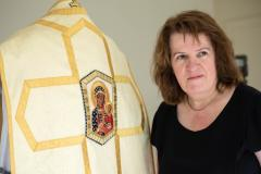 Wilmslow seamstress creates sewing oasis to meet demand for priests' vestments and altar cloths