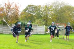 Lacrosse: 1st Team march on