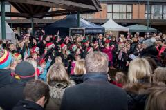 Handforth set for Christmas lights switch on