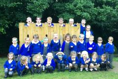 Smiles all round as little ones settle into big school