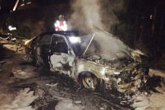 Car fire extinguished on Macclesfield Road