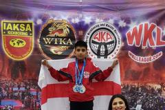 Raza wins Thai Boxing title at World Championships