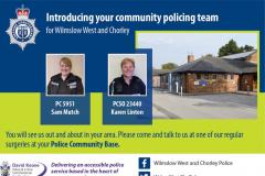 New approach to community policing in Wilmslow and Handforth