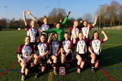 Football: Under 16 girls crowned Cheshire champions