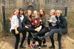 Wilmslow High students set the bar high