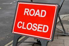 Cliff Road closed for three weeks