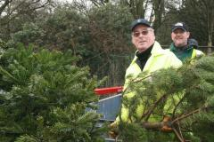 Christmas Tree collection postponed due to bad weather