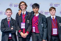 Wilmslow High students in running to win £25,000 youth innovation prize