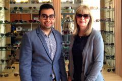 Optician gives away Ray Bans to prize draw winner