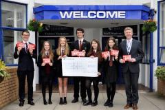 Students raise over £1000 for those less fortunate