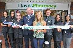 Corrie star helps launch new look pharmacy