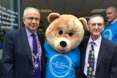 Lung cancer charity opens Wilmslow shop