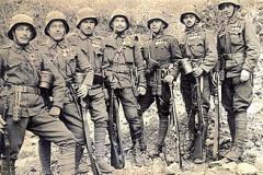 Lest We Forget: March 1918 - 19 of our young men lost in the last great German offensive of the war