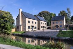 Contemporary canalside homes released for sale