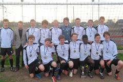 Football: Wilmslow High U16s crowned Cheshire champions