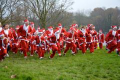 In Pictures: Wilmslow Santa Dash