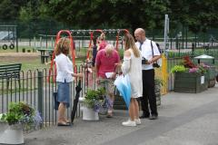 Blooming Wilmslow gets the thumbs up from RHS judges