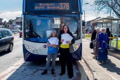 Campaign to save 'vital' bus service notches up a gear